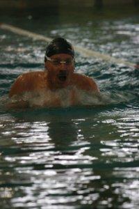Peter Müller bei den Testwettkämpfen für die Weltmeisterschaften