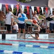 Jacopo zum Start über die 100m Brust